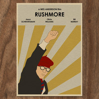RUSHMORE 16x12 Movie Poster Print by MonsterGallery on Etsy