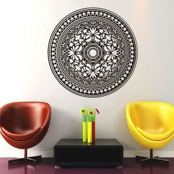 Waterproof Mandala Art Wall Sticker [9357009988]
