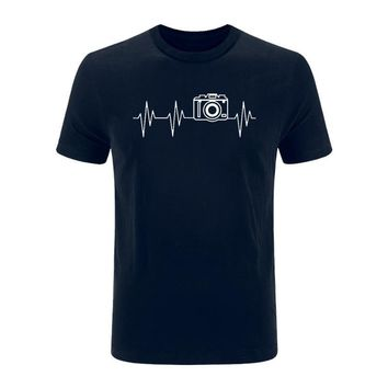 Photographer Heartbeat - Photography - Unisex T-shirt