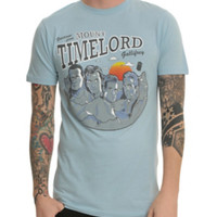Doctor Who Mount Timelord T-Shirt