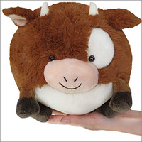Mini Squishable Chocolate Milk Cow