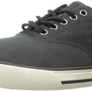 DCCK8BW Polo Ralph Lauren Men's Vaughn Saddle Sneaker Grey 9.5 D US