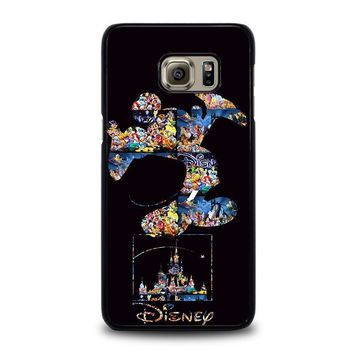 mickey mouse disney samsung galaxy s6 edge plus case cover  number 1