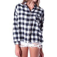 Tartan World Plaid Shirt - White/Black
