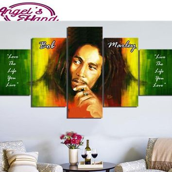 3pcs 5d diy diamond painting Bob Marley round/square drill diamond embroidery mosaic modern triptych home decoration 3d painting