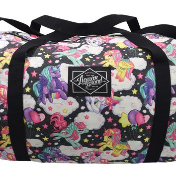 Liquorbrand Pegasus Rainbow Unicorn Kawaii Oversized Duffle Bag