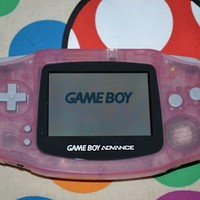Gameboy Advance Fuchsia Pink