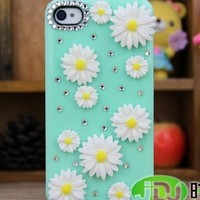 Hot New Girl Women Pretty Apple Iphone5 Case Iphone 5 Case Chrysanthemum