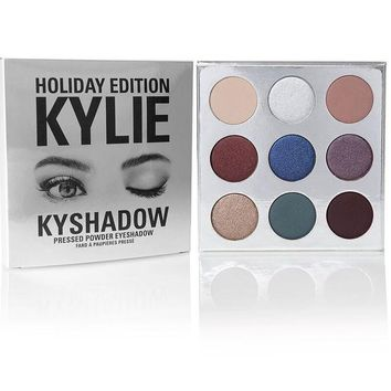 DCCKJ6E Christmas Kylie Contour 9 Colors Eye Shadow [9664115087]