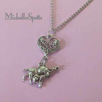 Teen Wolf inspired Skira Necklace Spirals Scott McCall Necklace Kira Yukimura Kitsune Triskelion Necklace The Fox and the Hound Necklace