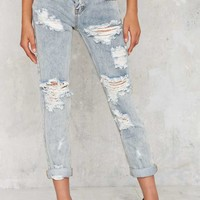 One TeaspoonAwesome Baggies Distressed Denim