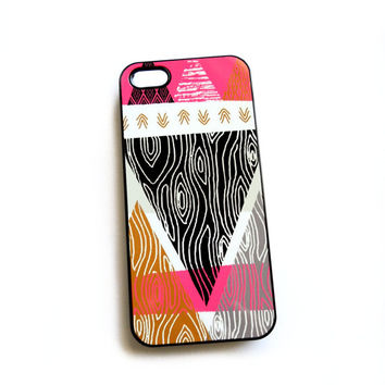 Tribal Hot Pink iPhone 4 4S 5 5S 5 C Samsung Galaxy Cases Ships from USA