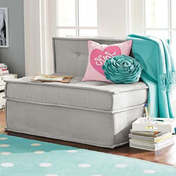 "Cushy Sleeper Sofa (47.25"")"