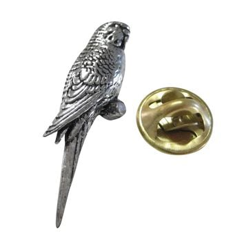 Budgie Bird Lapel Pin