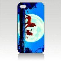 The Lion King Hard Case Skin for Iphone 4 4s Iphone4 At&t Sprint Verizon Retail Packing.