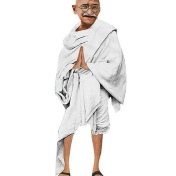 Mahatma Gandhi Card :: Unemployed Philosophers Guild
