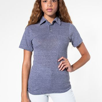 rsatr412w - Unisex Tri-Blend Short Sleeve Leisure Shirt