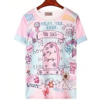 You Suck Harajuku T-Shirt