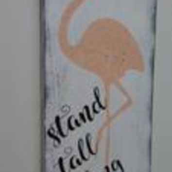 Stand Tall Darling Girls Nursery Decor
