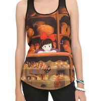 Studio Ghibli Her Universe Kikis Delivery Service Bakery Girls Tank Top