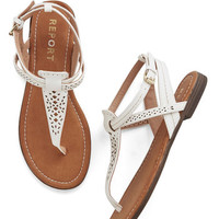 ModCloth So Fresh and So Gleaming Sandal