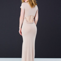 Top To Bottom Cut-Out T-Shirt Maxi