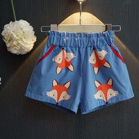 clothing online Picture - More Detailed Picture about animals fox print kid girl clothing girls clothes summer 2016 2 pieces petal sleeve outfit set Picture in Clothing Sets from Dou Dou Kids | Aliexpress.com | Alibaba Group