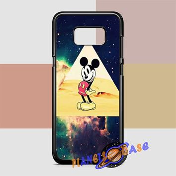 disney Mickey mouse Hipster Triangle Galaxy Samsung Galaxy S8 Plus Case Planetscase.com
