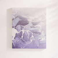 Emanuela Carratoni For DENY Marble And Rose Canvas Wall Art - Urban Outfitters
