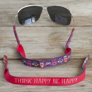 Think Happy Be Happy Sunglass Strap by Natural Life