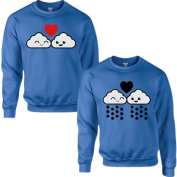 CLOUDS OF LOVE COUPLE SWEATSHIRT