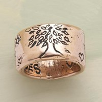 ROSE GOLD STRENGTH RING