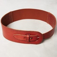 Ophir Corset Belt by Anthropologie in Brown Size: