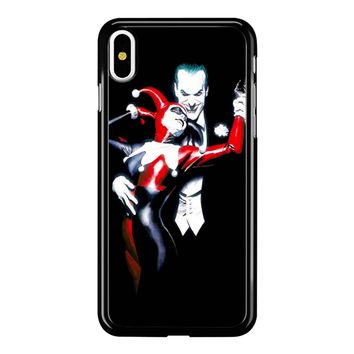 The Joker And Harley Quinn iPhone X Case