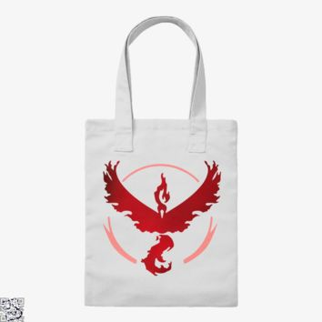 Team Valor And Proud, Pokemon Tote Bag