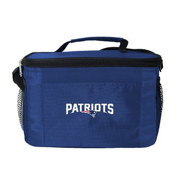 New England Patriots 6-Pack Cooler/Lunch Box