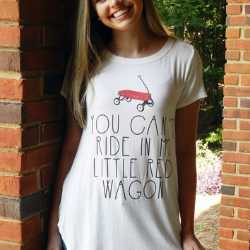 Little Red Wagon Top