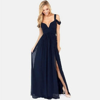 2015 summer new fashion Greek style elegant slim luxury sexy deep v-neck sleeveless bohemian long dress casual women dresses = 1753644292