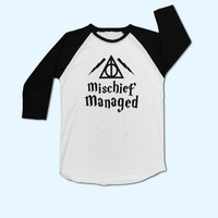 Mischief Managed Harry Potter T-Shirt - Gift for friend - Present