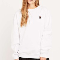 Fila Cassio White Sweatshirt - Urban Outfitters