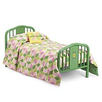 American Girl® Furniture: Kit's Bed & Quilt Set