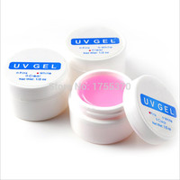 1PCS X Pink White Clear Transparent 3 Color Options UV Gel Builder Nail Art Tips Gel Nail Manicure Extension
