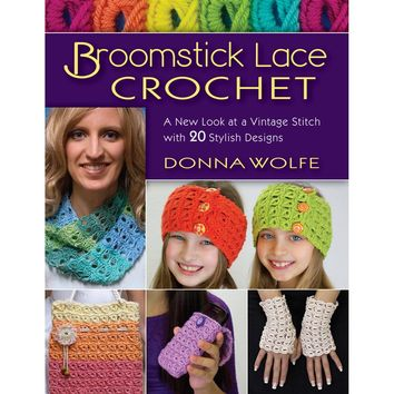 Stackpole Books-Broomstick Lace Crochet