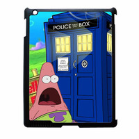Patrick Star Tardis Dr Who iPad 4 Case