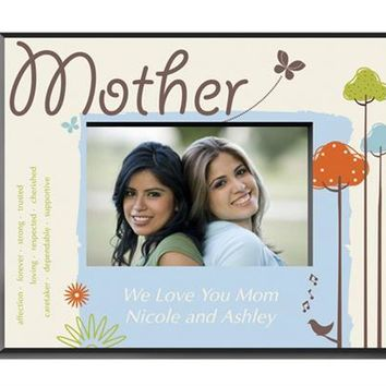Nature's Song Mother Picture Frame Free Customization