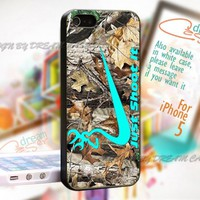 Just Shoot It Deer Camo - Print On Hard Case iPhone 5 Case