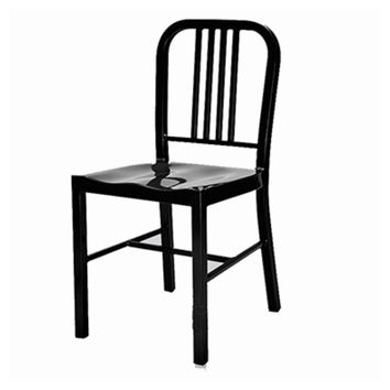 US Navy Dining Chair - Black - Reproduction | GFURN