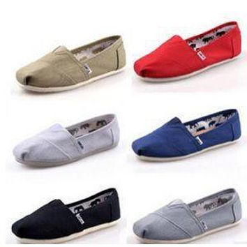 authentic women s toms classic canvas shoes 35 45