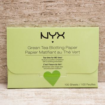 NYX Face Blotting Paper - Green Tea