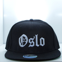 O-town™ - Authentic Streetwear — OSLO OLD ENGLISH SNAPBACK